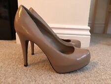 ladies new look Platform Stiletto Heels size 5 Nude