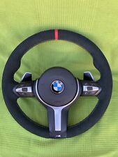 BMW F30 F31 F33 F36 F20 F21 M Sport Alcantara Steering Wheel Paddle shift
