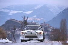 Timo Salonen Peugeot 205 Turbo 16 Monte Carlo Rally 1985 Photograph 3