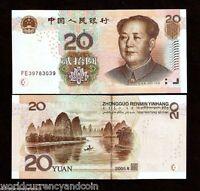CHINA 20 Yuan P-905 2005 X 100 Pcs Lot Full Bundle Boat River MAO UNC Money NOTE