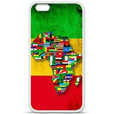 Coque Housse en Silicone France Iphone 6 (4,7'') - Drapeau africa unite
