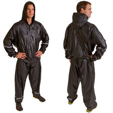 Hooded Thermal Training Sweat Suit Sauna Suit for weight loss L/XL