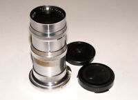 Carl Zeiss Sonnar 4/135 mm German lens for Contax rangefinders