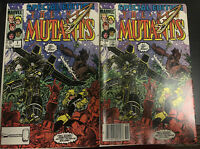 Special Edition New Mutants #  1 (NM) Newstand + Direct Edition  1st App