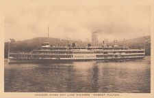 B77727 hudson river day line steamer robert fulton  canada scan front/back image