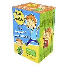 Hey Jack The Complete Jack Stack 20 Books Children Set Paperback by Rippin Sally