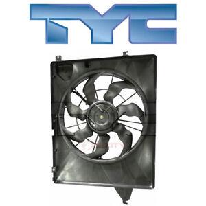 For Hyundai Santa Fe 2013-2018 TYC 623210 Dual Radiator & Condenser Fan