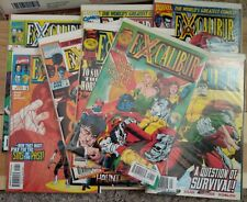 *WoW* EXCALIBUR #107 #110 - #117 Marvel Comics