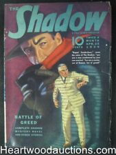 The Shadow  Apr 15, 1939  Graves Gladney Cover, Edd Cartier Art, Frank Gruber -