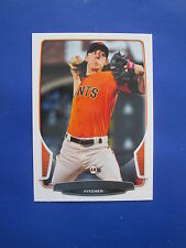 Rare! 2013 Bowman Baseball- ERROR - NO NAME - NO FOIL - Tim Lincecum #35 Giants