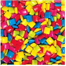 TROPICAL FRUIT 9900 pc Dubble Bubble Tab Gum 25lb vending candy chiclet assorted