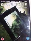 Cloverfield 2008 Monster Mash Sci-Fi SUSPENSE Disco 2 Edición Especial GB DVD