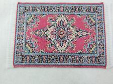 "2.5""x3.5""  #8 Dollhouse Miniature 1:12 Scale  Floor Carpet Woven Area Rug"