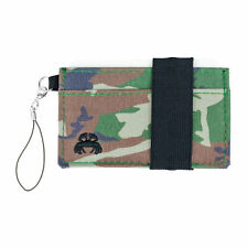 Crabby Wallet - Slim Minimalist Wallet - Canvas -