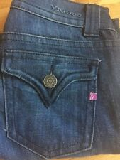 Vigoss The New York Boot Size 8 Or 28 Jeans Hard to Find Dark Wash