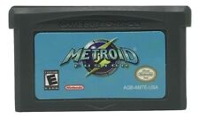 Metroid Fusion Game Boy Advance game w/ CASE GBA