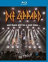 DEF LEPPARD AND THERE WILL BE A NEXT TIME BLU-RAY ALL REGIONS NEW