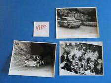 N°4880 / NSU 1000 TTS et 1200 TT en course / 3 photos constructeurs