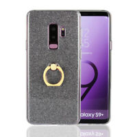 Holder Ring Stand Bling Soft Silicone TPU Case Cover For Samsung Galaxy Models