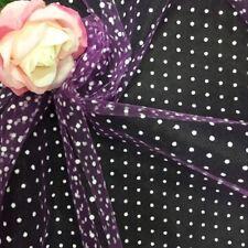 3yard x 15cm bridal polka dot veiling wedding fascinator dress making lace diy