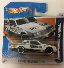 Hotwheels HW Performance 11 Buick Grand National Toy Car