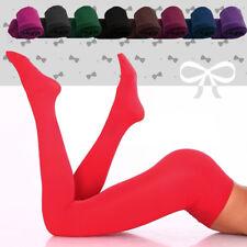 Womens Opaque TIGHTS Soft Microfiber 100 Denier Pantyhose Sizes S-M-L Colours