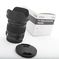 Sigma Standard Lens 17-70mm F2.8-4 DC MACRO OS HSM for Nikon Digital SLR Camera