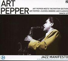 ART PEPPER JAZZ MANIFESTO - 2 CD BOX SET - SMACK UP, IMAGINATION & MORE