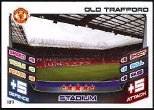 Old Trafford Stadium #127 Topps Match Attax Football 2012-13 Trade Card (C440)