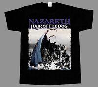 NAZARETH HAIR OF THE DOG'75 NEW BLACK SHORT/LONG SLEEVE T-SHIRT