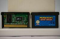 Mario Kart Super Circuit GameBoy Advance nintendo Game Boy GBA original clean