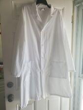 Fashion Seal Full-Length Unisex White Lab Coat - Size Xl