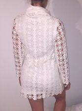 **BRAND NEW** USCARI white skivvy knitted dress    S / AU 10 / EU 36 / UK 8