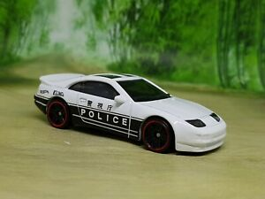 Hot Wheels Nissan 300ZX Twin Turbo Police Car Diecast 1/64 - Excellent Condition