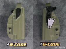 G-Code XST RTI SIG P226 W/ Rail MK25 Level II Retention OD Green Holster