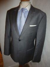 Homme EDEN PARK club house en laine gris été Bal Costume Veste Taille 42 jambe 34 28.5