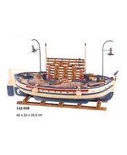 Maqueta de barca pesca marinera artesanal