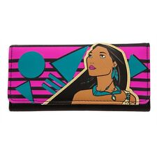 Pocahontas Trifold Wallet/Clutch Bag Disney Store Collection by Loungefly Nwt