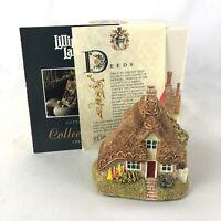 Lilliput Lane Two Hoots Cottage 1994 Figurine