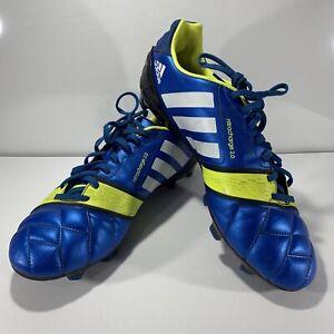 Adidas Nitrocharge 2.0 TRX FG Football Boot, Size UK 9 Colour Blue/Yellow