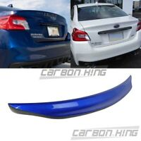 15up Fit For SUBARU WRX STI 4th 4DR DTO V Style Trunk Boot Spoiler Carbon + K7X