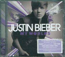 Justin Bieber – My Worlds Con Sticker (Usher/Ludacris) Cd Ottimo