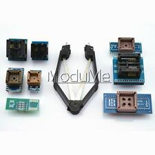 8pcs Programmer Adapters Sockets + IC Extractor Kit for TL866CS TL866A EZP2010 M