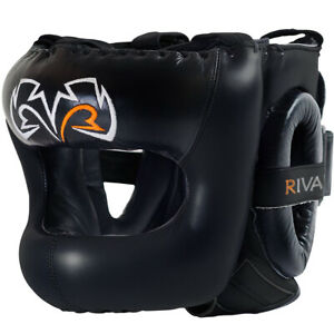 Rival Guerrero Facesaver Headgear - Black