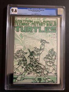 TEENAGE MUTANT NINJA TURTLES MIRAGE STUDIO (1985) #4  CGC 9.6 (W/P) NEW CASE!