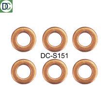 Mercedes C320 CDI Bosch Common Rail Diesel Injector Washers / Seals x 6
