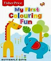 Large A4 Fisher Price My First Colouring Fun Toddler Kids Activity Book Elephant