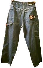 Vintage Iceberg Ice History Tom & Jerry Denim Jeans Mens Size 36 Italy Designer