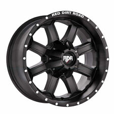 20x12 RDR RD01 RD1 6x135/6x5.5/6x139.7  Black Wheels 4  Rims and 4 mud ires