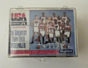 1992 Skybox Basketball Olympic Dream Team Complete Set Of 110 Jordan Last Dance